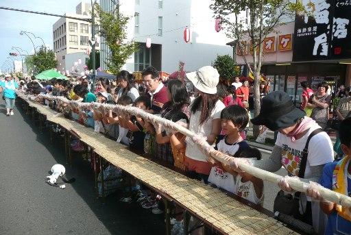 日本一の白いカツロール完成