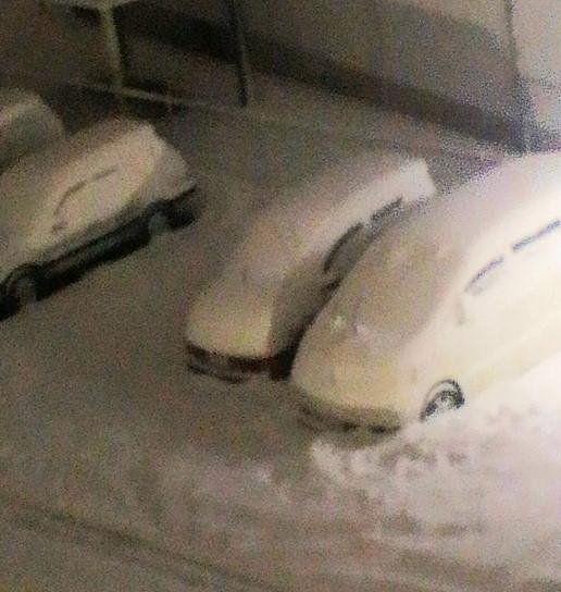 1月25日とある駐車場