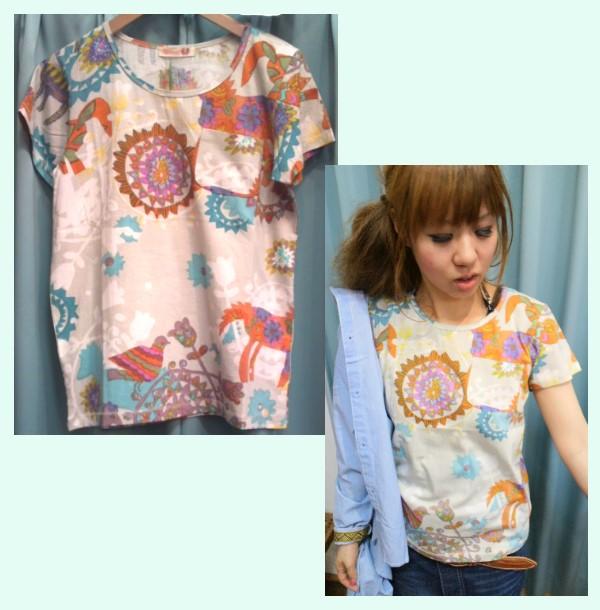 Shanti2(ズー)Teeシャツ