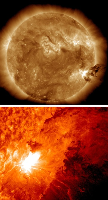 太陽 フレア 0609-1