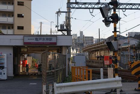 亀戸水神駅