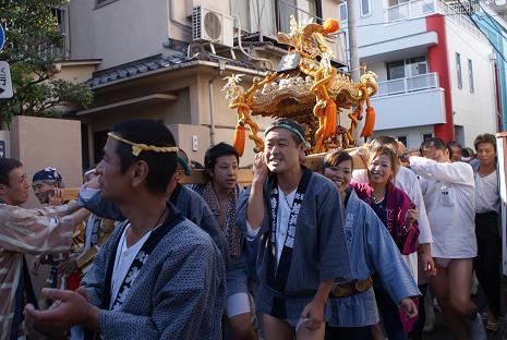 祭り(お神輿)