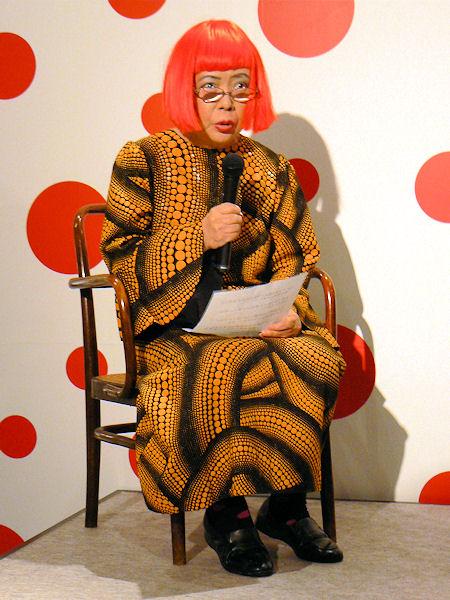 草間彌生(20090802)