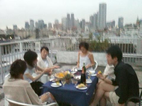 夏ディナー
