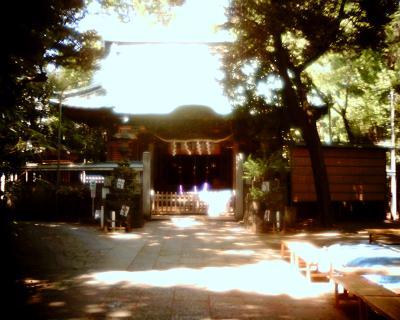 戸越八幡神社:Entry