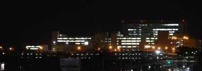 夜のトヨタ本社方面 DSC_0256
