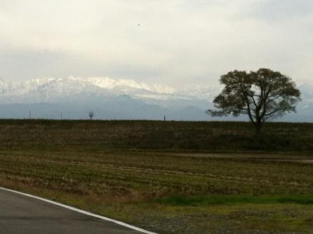 初冬の富山