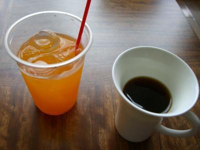 マンゴージュース コーヒー