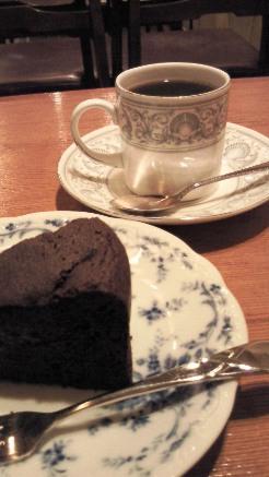 十一房珈琲店 ケーキセット
