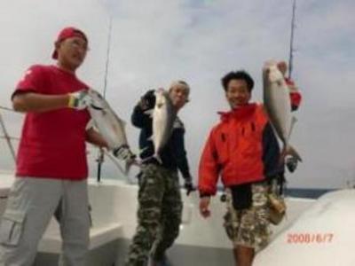ネリゴのトリプル釣れ