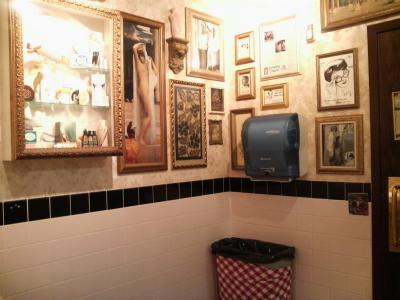 ブカレストランのトイレ2