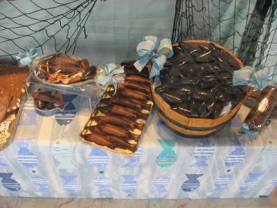 チョコもムール貝