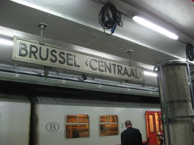 ブリュッセル到着