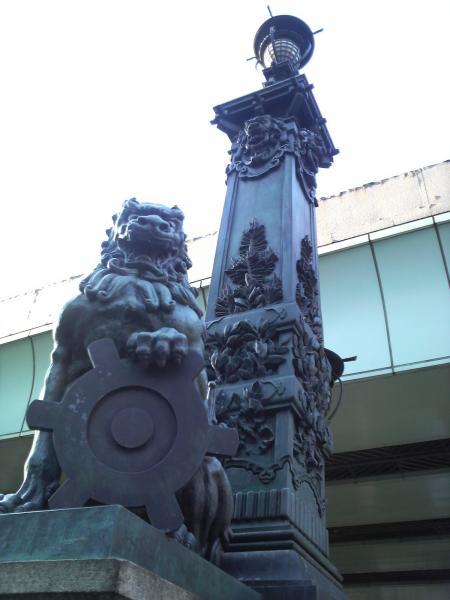 日本橋 狛犬?