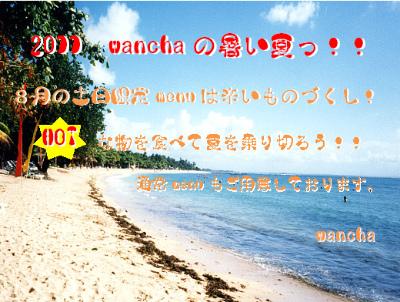 2011wancha夏s