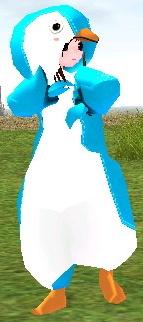 うさぺん 行動 ダンス ペンギンローブ