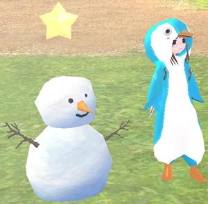 90cm~ 冬イベント 雪だるま 魔法の雪のかたまり 20