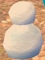 50cm~ 冬イベント 雪だるま 魔法の雪のかたまり 11