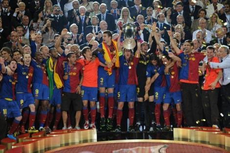 FCバルセロナ UEFAチャンピオンズリーグ優勝