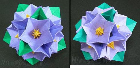 折り 折り紙 ユニット折り紙多面体折り方 : xkusudamax.blog.fc2.com