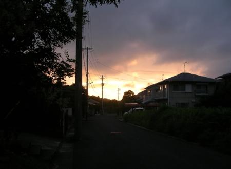 7/14.19:27西の空