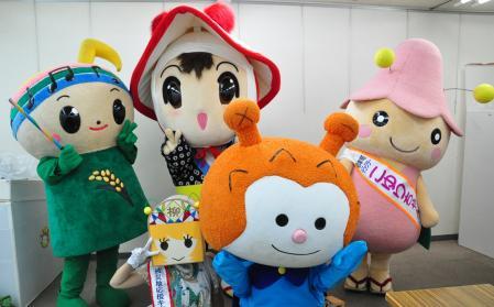 東日本のキャラクター