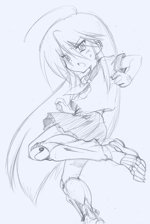 [泉こなた with ARMS]