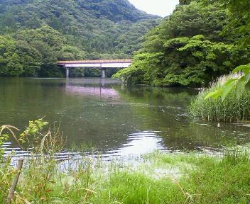 6月3日亀山湖