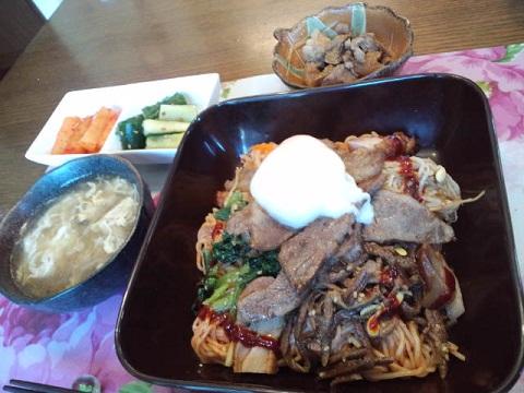 1舞ちゃんランチ冷麺