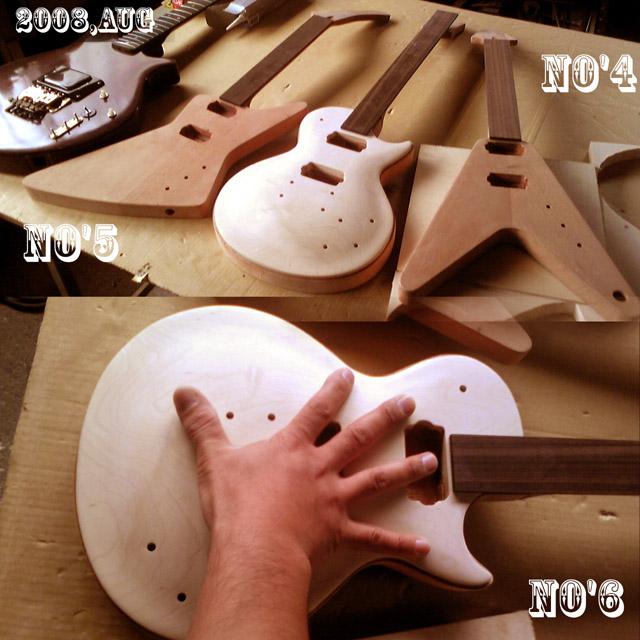 ギター2009製作途中