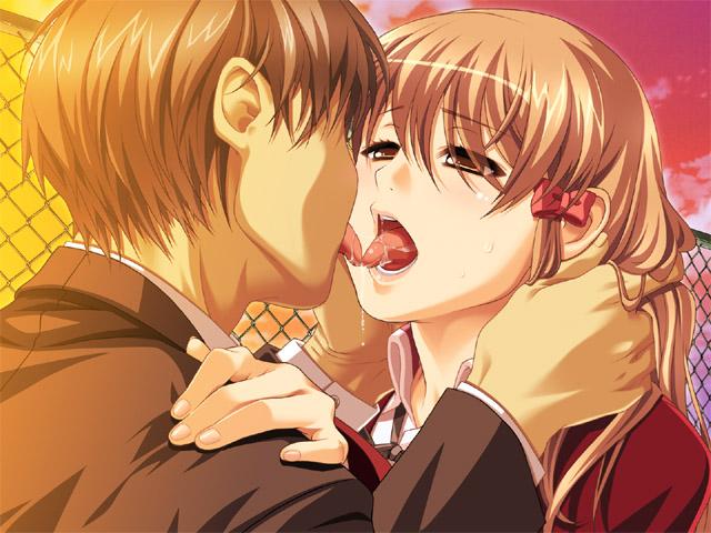 キス, 唾液