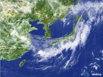 09072211天気図