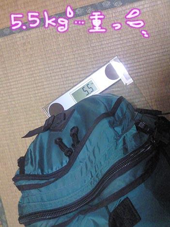 非難袋(重さ)