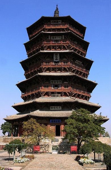 山西省にある仏宮寺釈迦塔