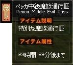 イメージ ペッカ中級通行証 うさぺん箱-horz