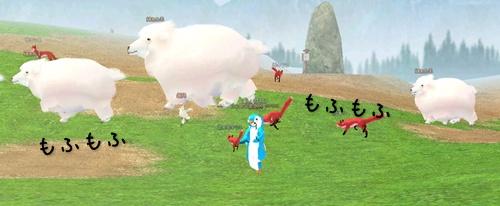 移動 綿あめ羊 感謝祭 もふもふ 11